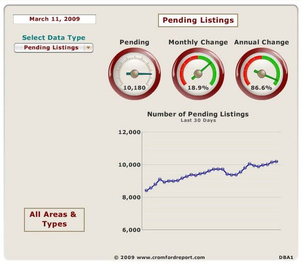 Arizona Housing Market Report March 2009